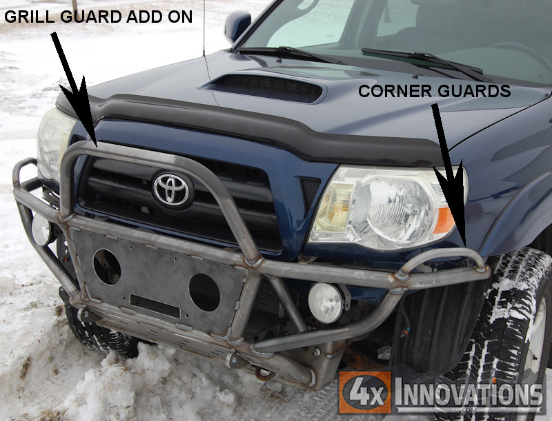 2005  2015 Toyota Tacoma Off Road Front Hybrid Winch Bumper