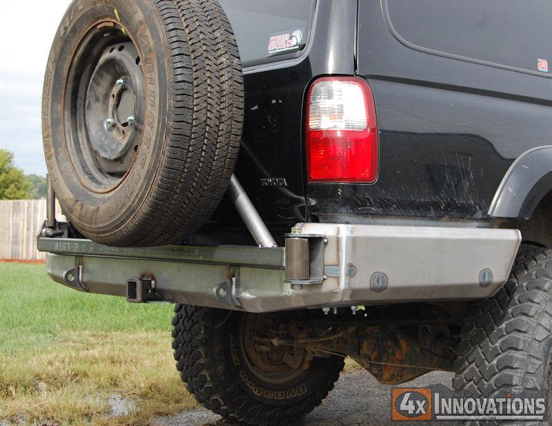 96 02 4 Runner Rear Plate Bumper