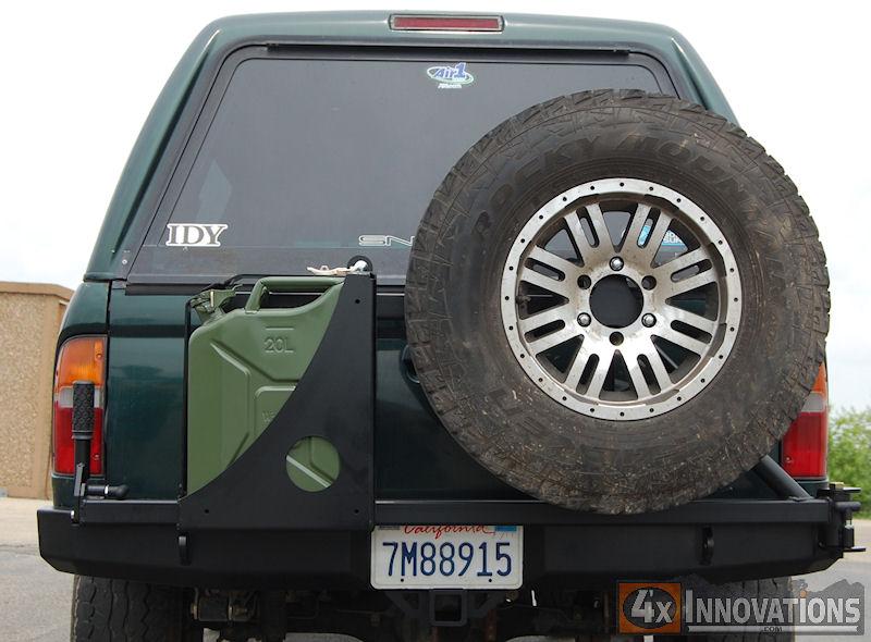 1995 2004 Tacoma Rear Plate Bumper
