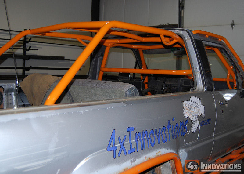 Diy roll bar for truck diy do it your self for Interior roll cage for toyota pickup