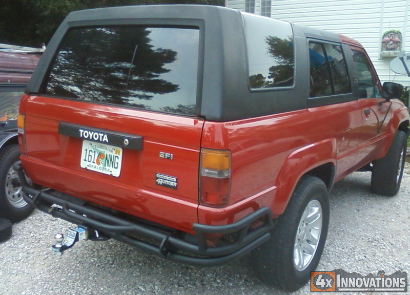 1984 1989 Toyota 4runner Off Road Rear Bumper With Class