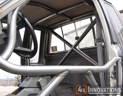 1984 1988 Toyota Extended Cab Pickup Internal Roll Cage