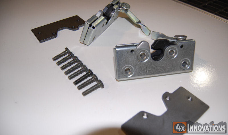 Tube Door Slam Latch Kit (Included with all door sets)