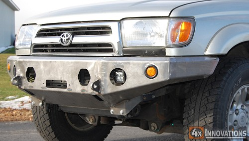 1996 2002 Toyota 4runner Front Winch Mount Plate Bumper
