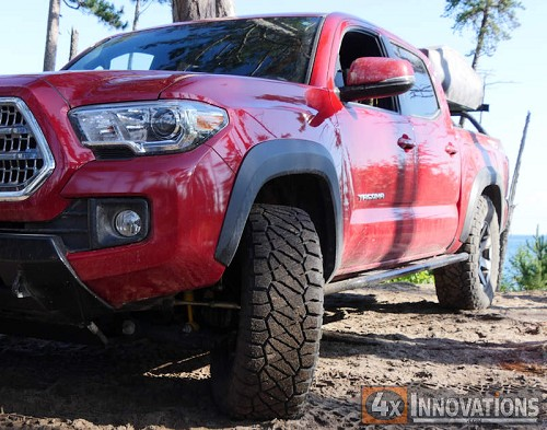 2016-2020 Tacoma Bolt On Sliders - ACLB or DCSB