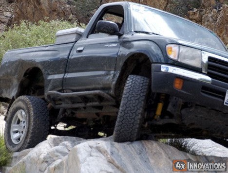 Round Rock Toyota >> 1995.5 - 2004 Toyota Tacoma Regular Cab Off Road Rock Slider